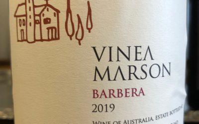 Vinea Marson Barbera, 2019, Heathcote, Victoria