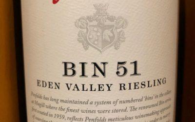 Penfolds Bin 51 Riesling, 2021, Eden Valley, SA