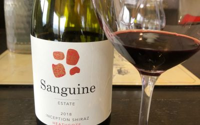 Sanguine Estate Inception Shiraz 2019, Heathcote, Victoria