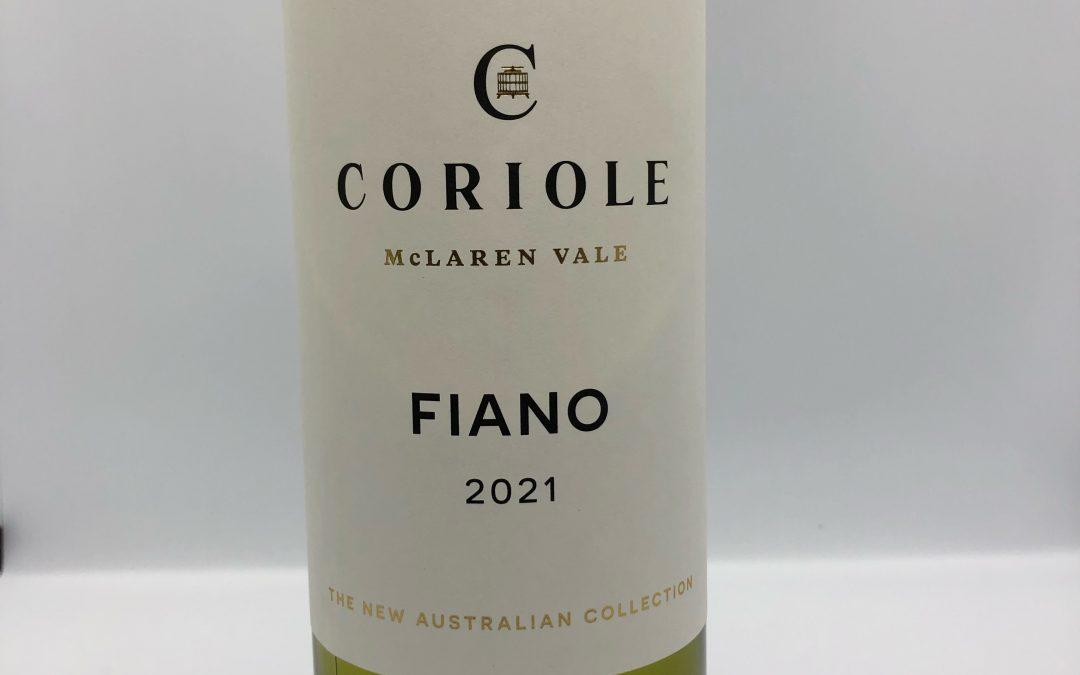 Coriole Fiano 2021, McLaren Vale, SA