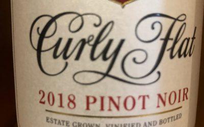 Curly Flat Pinot Noir 2018, Macedon Ranges, Victoria