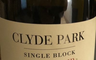 Clyde Park Pinot Noir College Block F 2017, Bannockburn, Geelong, Victoria
