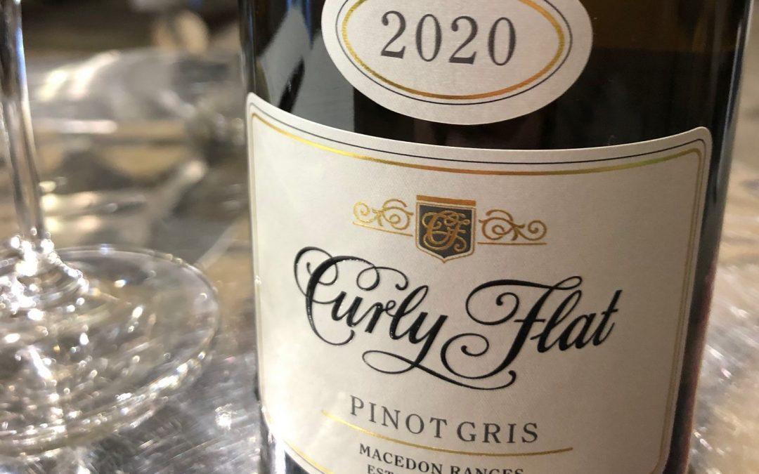 Curly Flat Pinot Gris 2020, Macedon Ranges, Vic